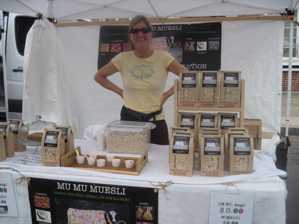 Lisa Zaccaglini of Mu Mu Muesli in Sharon Springs