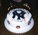 Craig's birthday cake