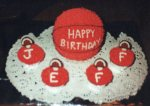 For my friend's son's birthday. Obviously Jeff was a basketball fan.