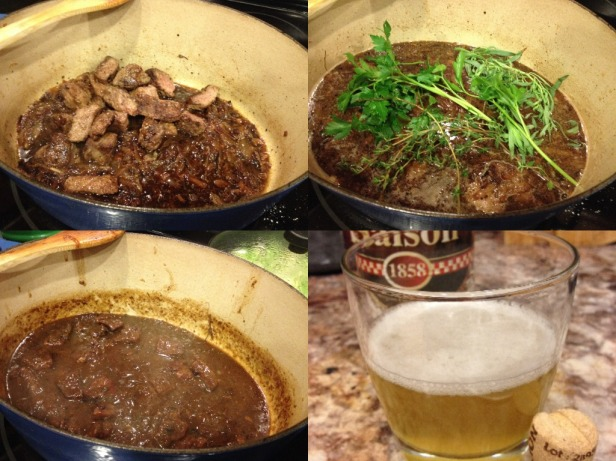 Carbonnade Collage