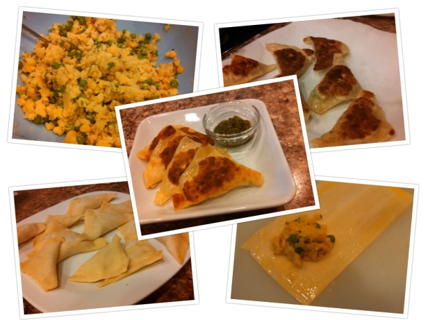 Samosa Collage