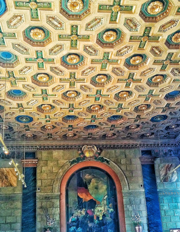 Ceiling and Painting Over the Bar
