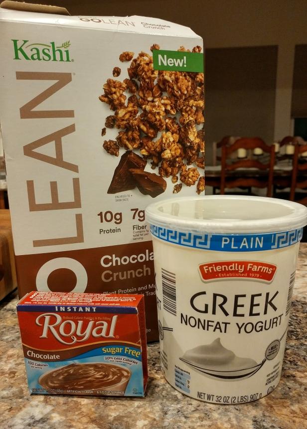 Choc Yogurt Snack